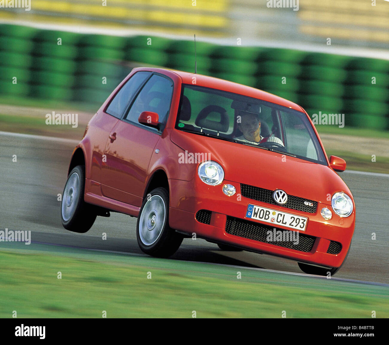 Worksheet. Car VW Volkswagen Lupo GTI Miniapproxs Limousine red model