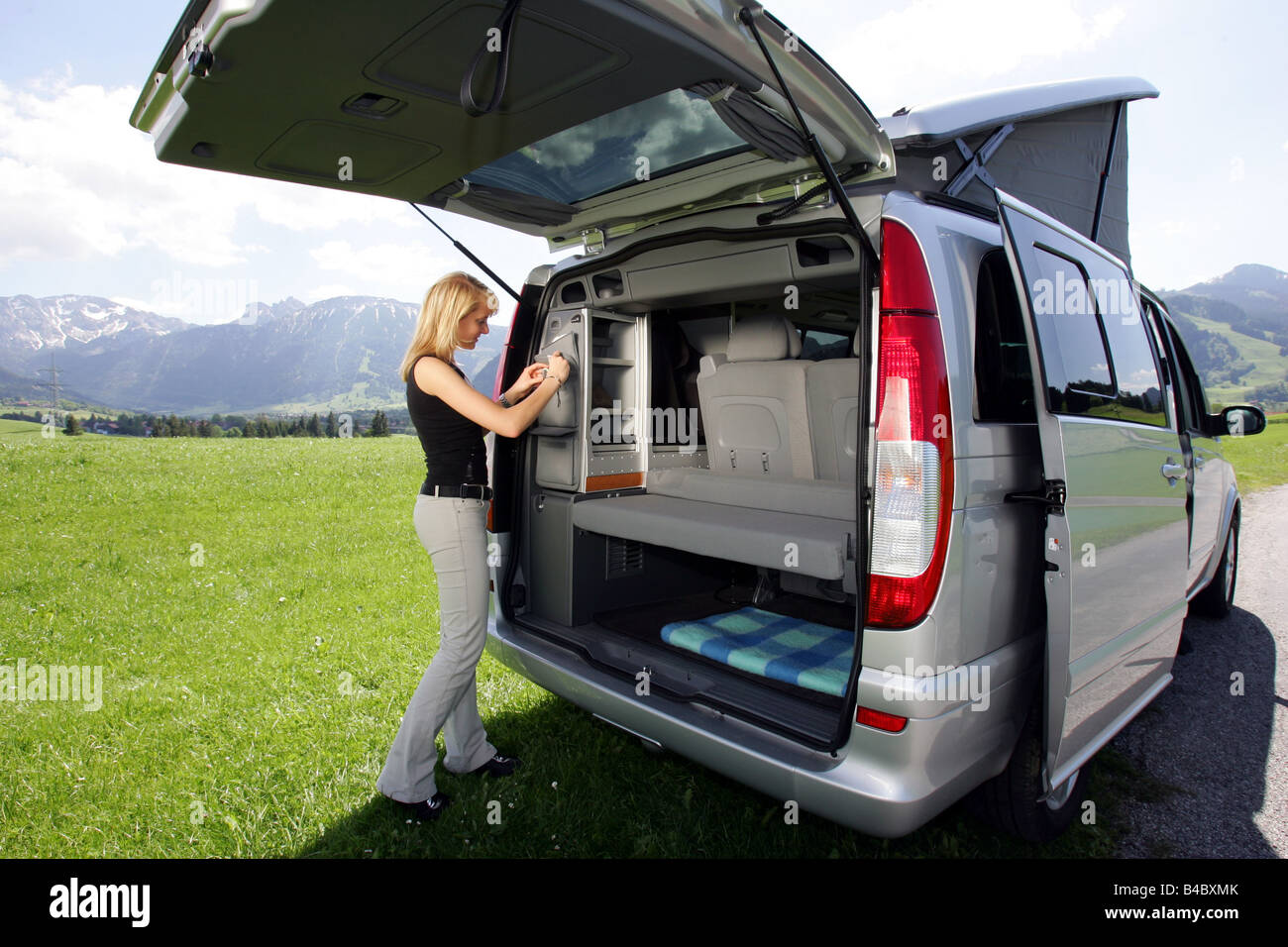 mercedes marco polo camper van camping. Black Bedroom Furniture Sets. Home Design Ideas