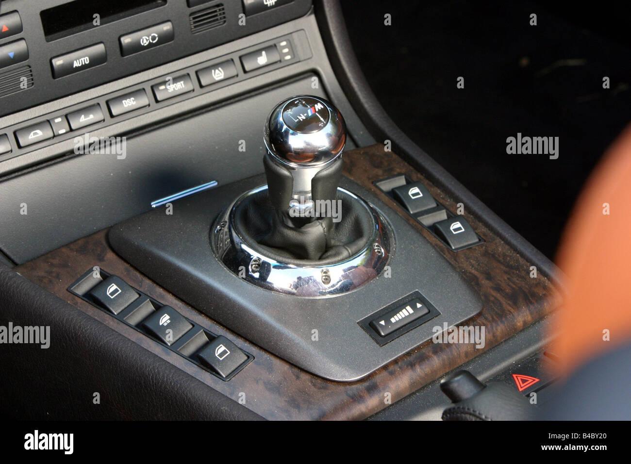 Car BMW M Convertible Model Year Black Interior View - Automatic bmw m3