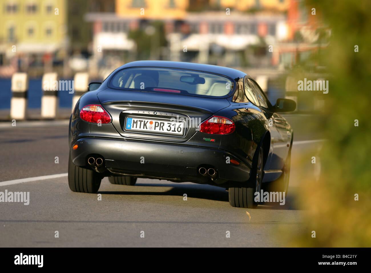 Car Jaguar XKR coupeCoupe model year 2004 roadster black