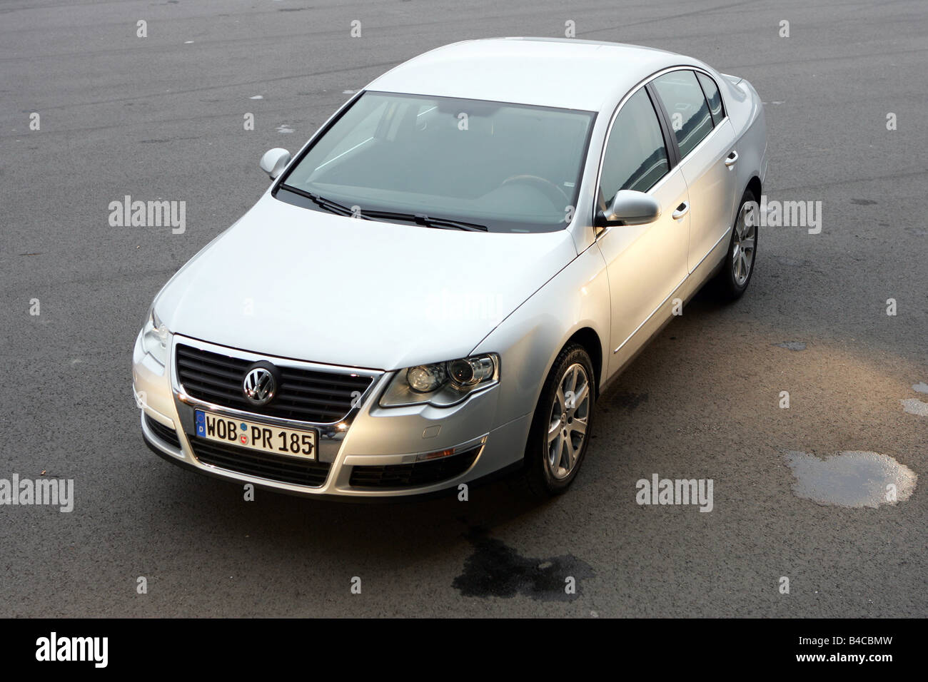 Car vw volkswagen passat 2 0 tdi dsg model year 2004 silver