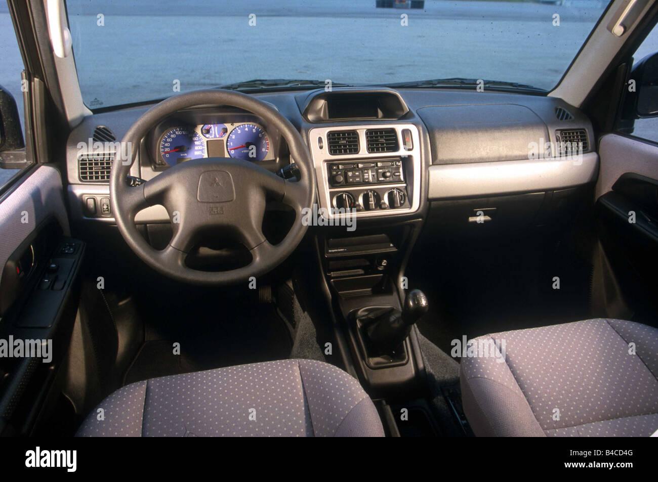 Car Mitsubishi Pajero Pinin cross country vehicle model year