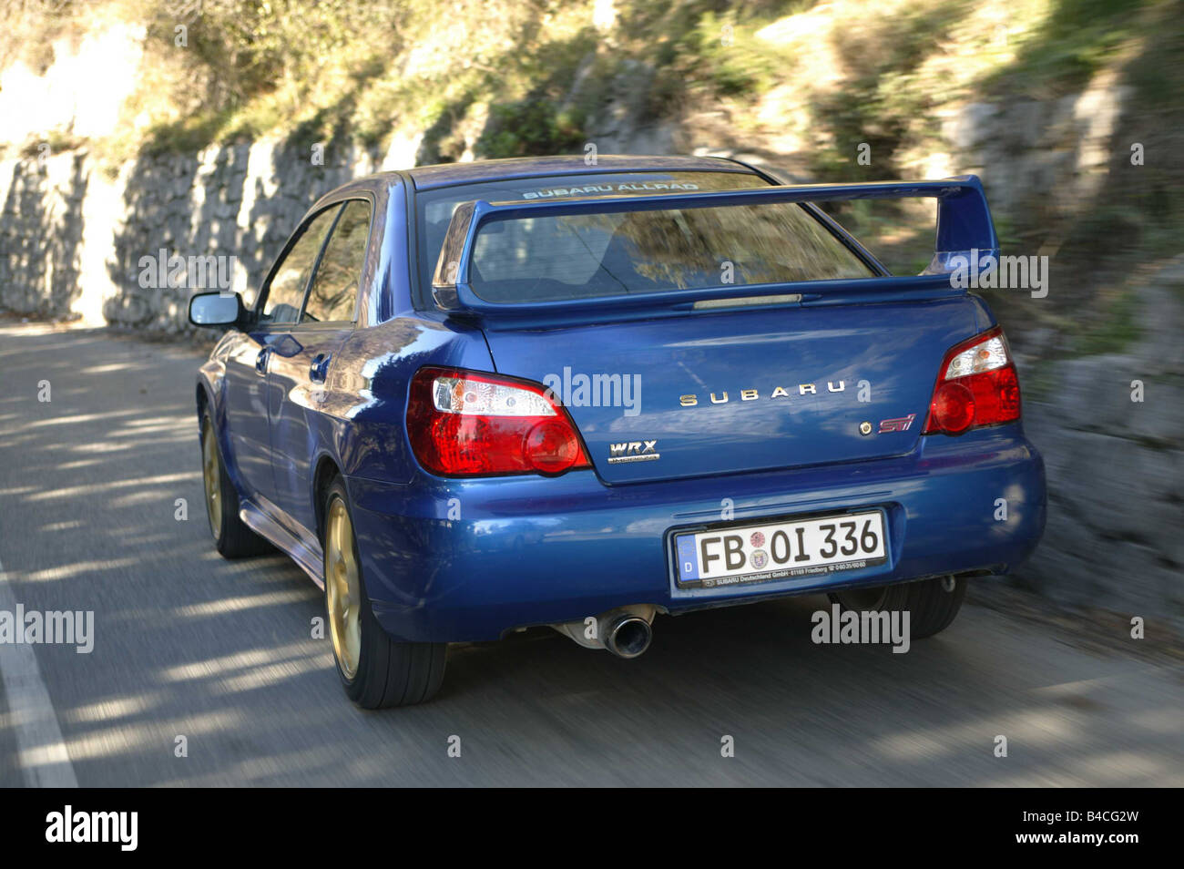 Subaru impreza wrx stock photos subaru impreza wrx stock images car subaru impreza wrx sti limousine coupe lower middle sized class vanachro Gallery