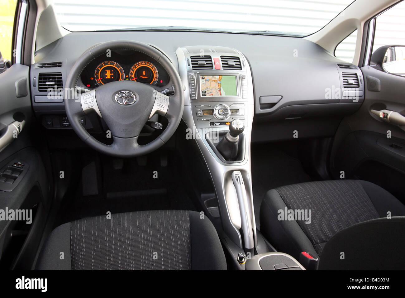 Toyota Auris 1 6 Dual Vvt I Executive Model Year 2007 Silver Stock Photo Royalty Free Image