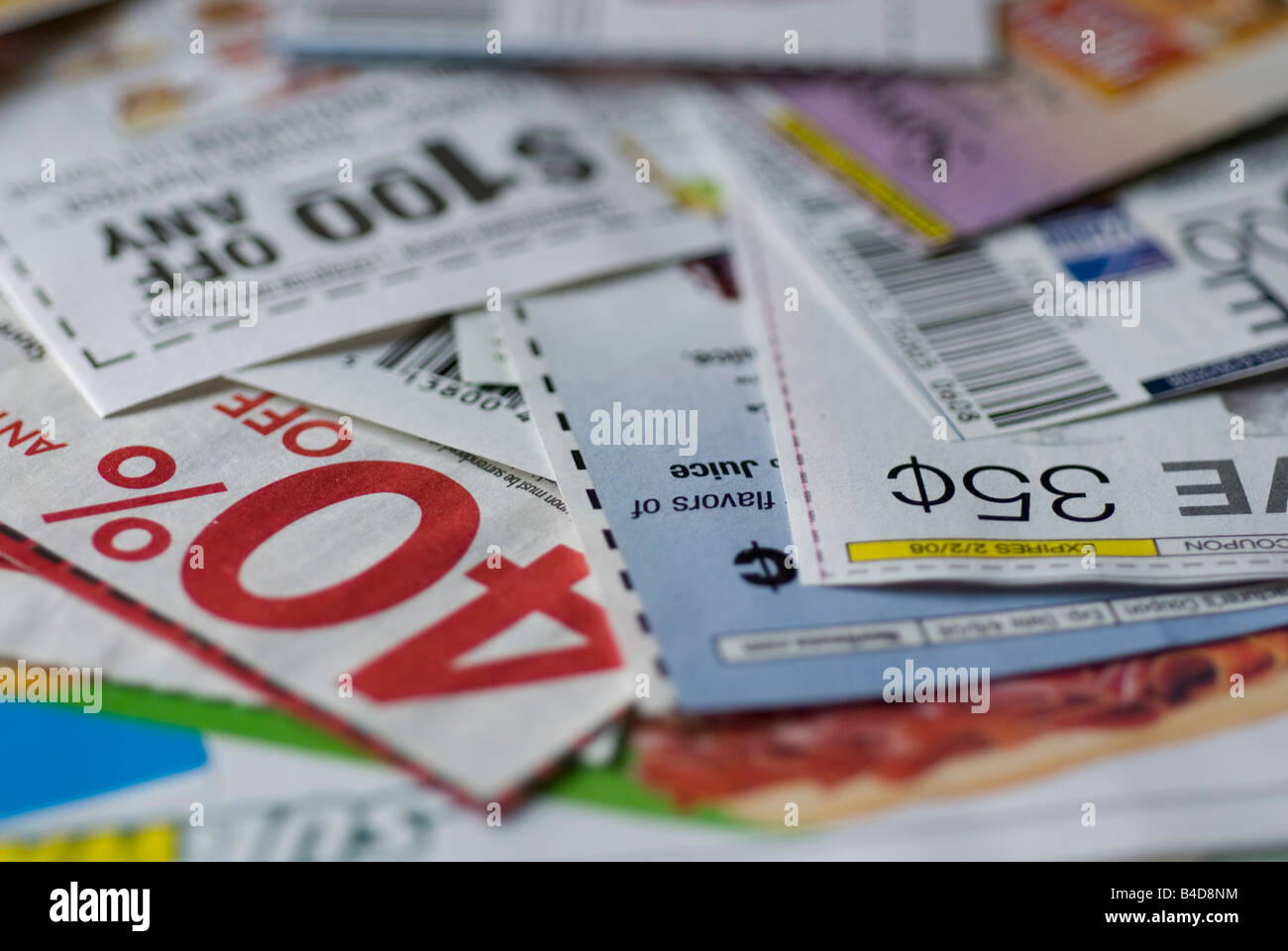 Buy clipped coupons