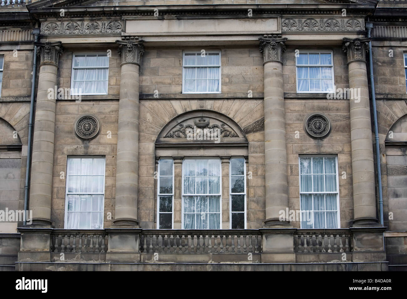 Georgian House Front Elevation : Georgian building front elevation stock photo royalty