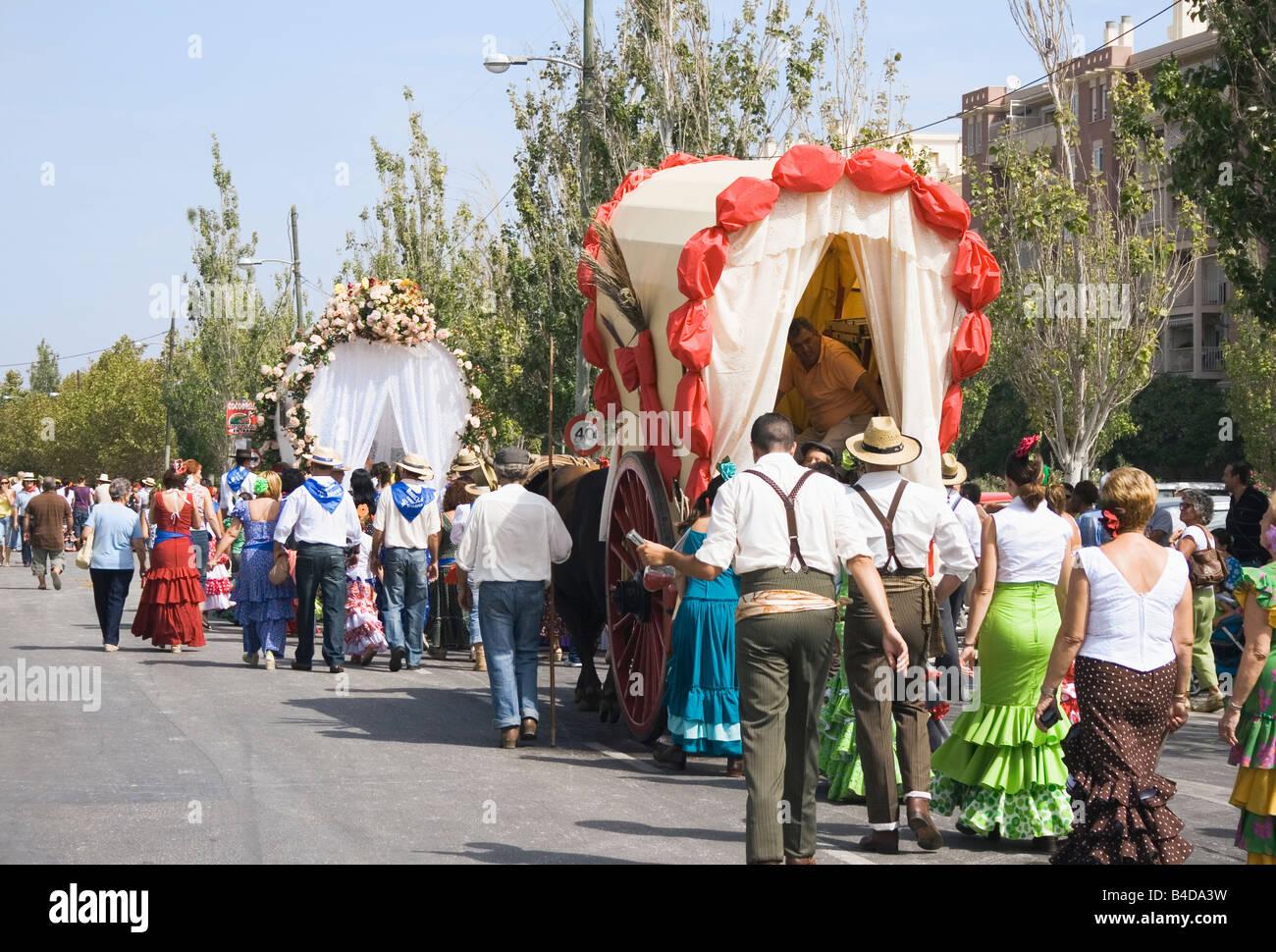 Torremolinos Costa Del Sol Malaga Province Spain Feria De San  # Muebles Mogar Malaga