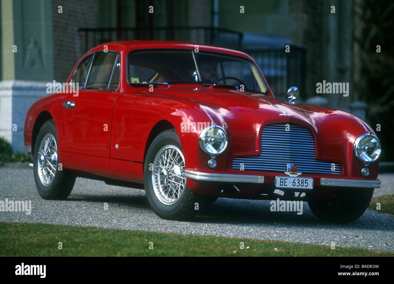 Car Aston Martin DB2 Vantage coupe model year 19511953