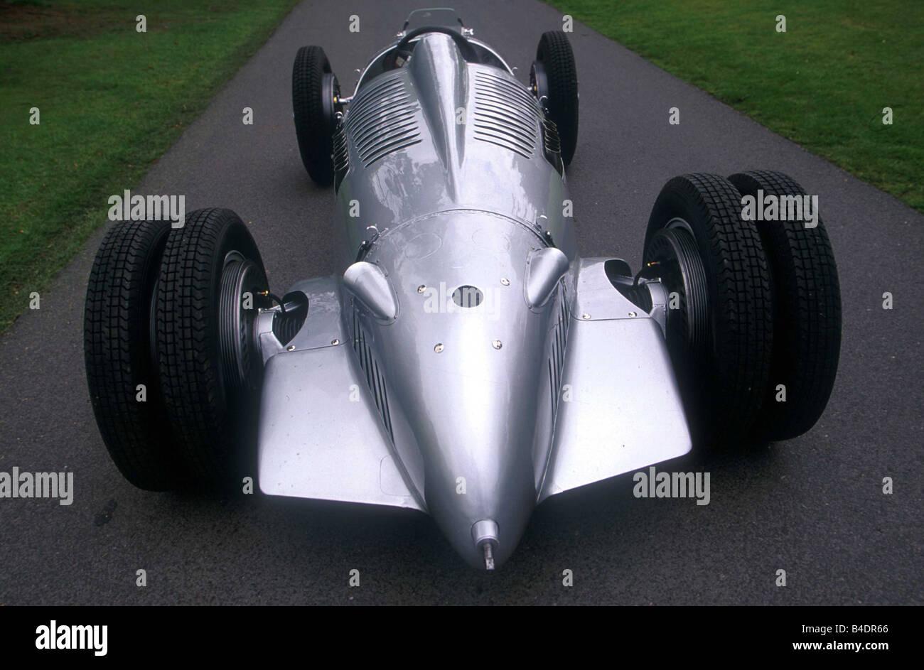 Car Auto Union Racing Approx Grand Prix Model Year