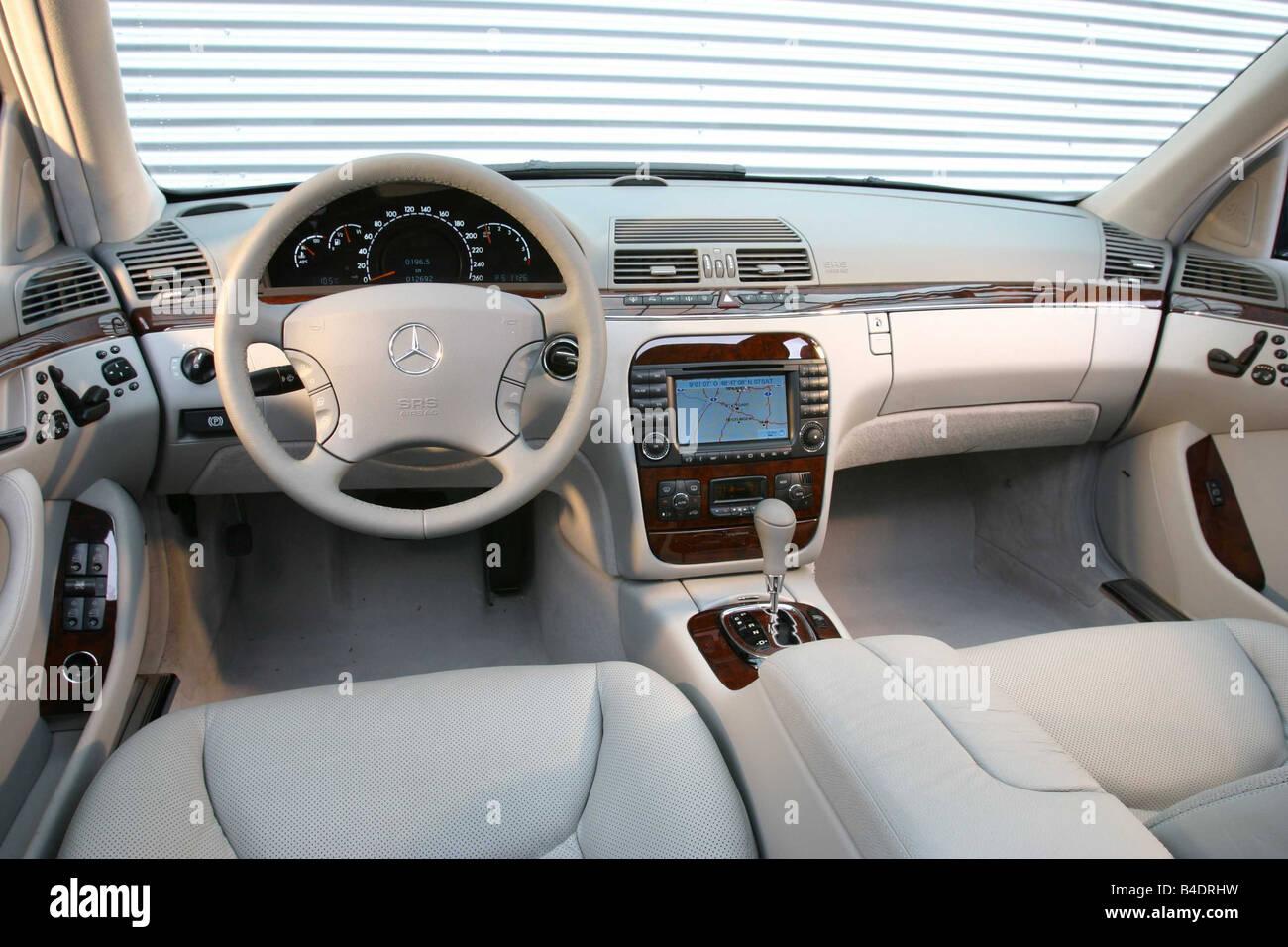 Mercedes Car Interior Stock Photos & Mercedes Car Interior Stock ... | {Auto cockpit mercedes 79}