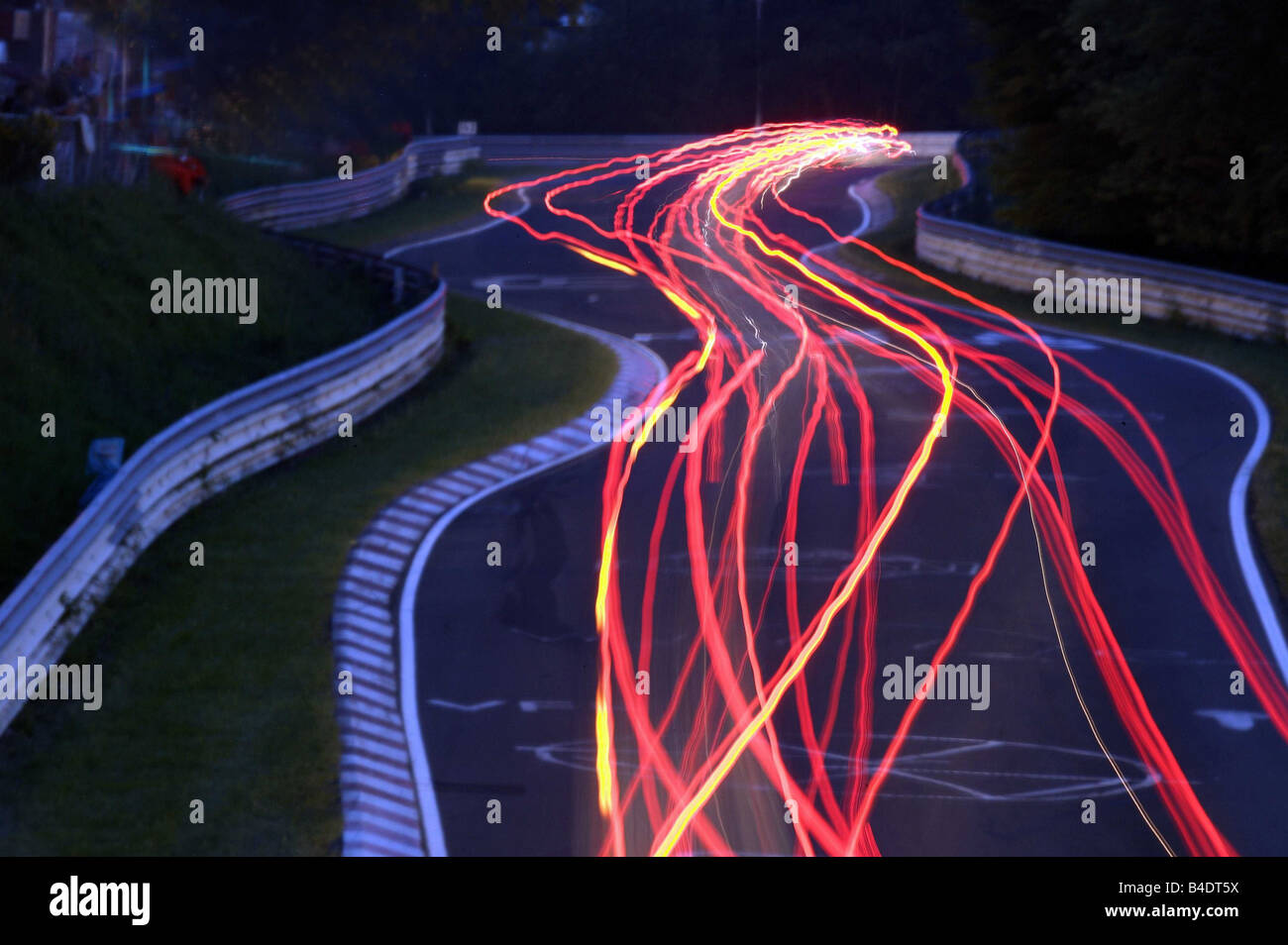 car 24h race 24 standen rennen impression at night n rburgring stock photo royalty free. Black Bedroom Furniture Sets. Home Design Ideas