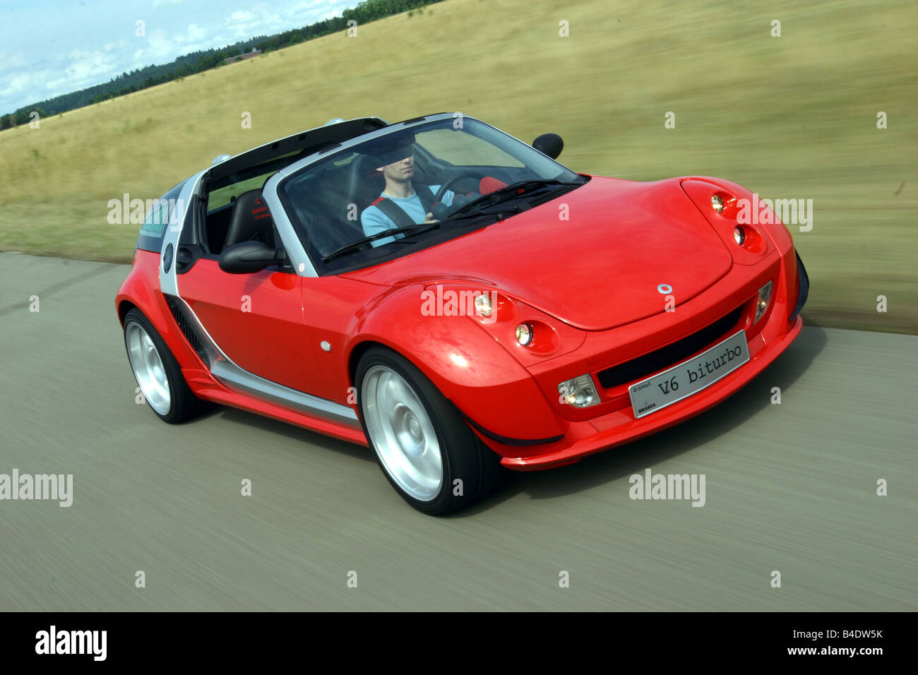 car smart roadster v6 model year 2002 convertible red. Black Bedroom Furniture Sets. Home Design Ideas