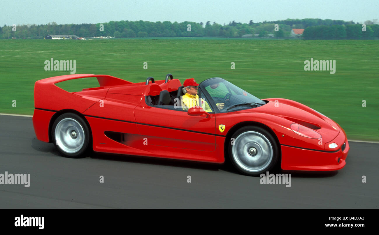 Ferrari f50 stock photos ferrari f50 stock images alamy car ferrari f50 model year 1995 2002 red roadster convertible vanachro Image collections