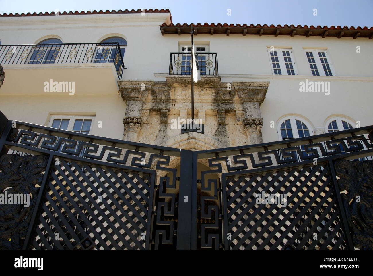 Wrought Iron Gate To Gianni Versace S Home In South Beach