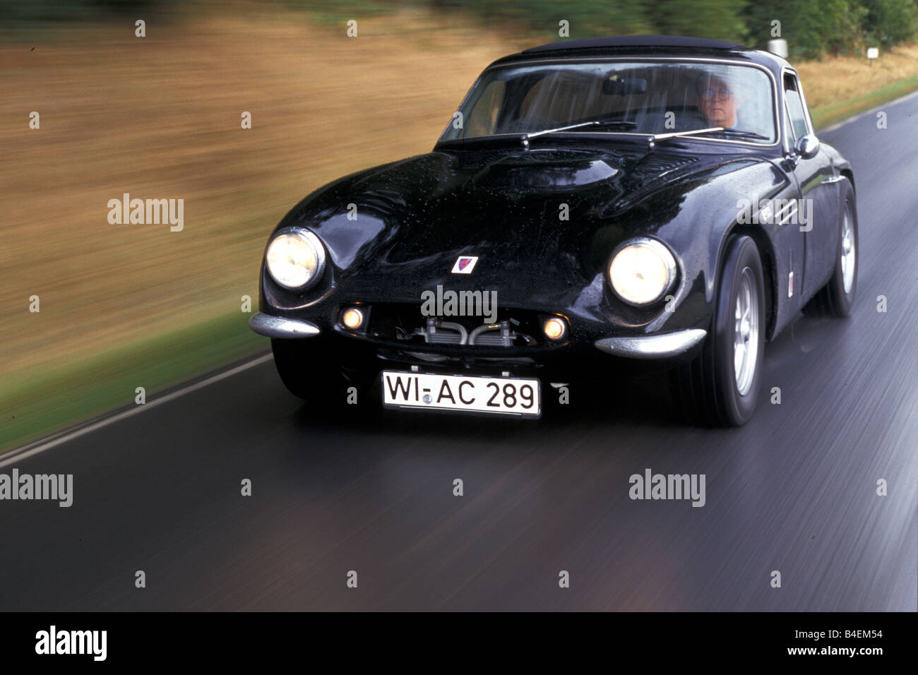 car tvr griffith model year 1963 1965 coup coupe vintage car stock photo royalty free. Black Bedroom Furniture Sets. Home Design Ideas