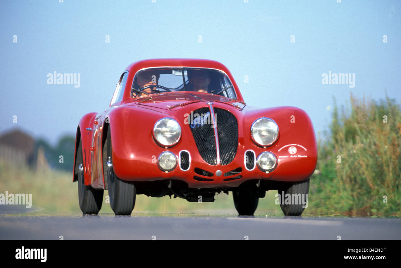 Car, Alfa Romeo 8C 2900 B Touring Le Mans, vintage car, model year ...