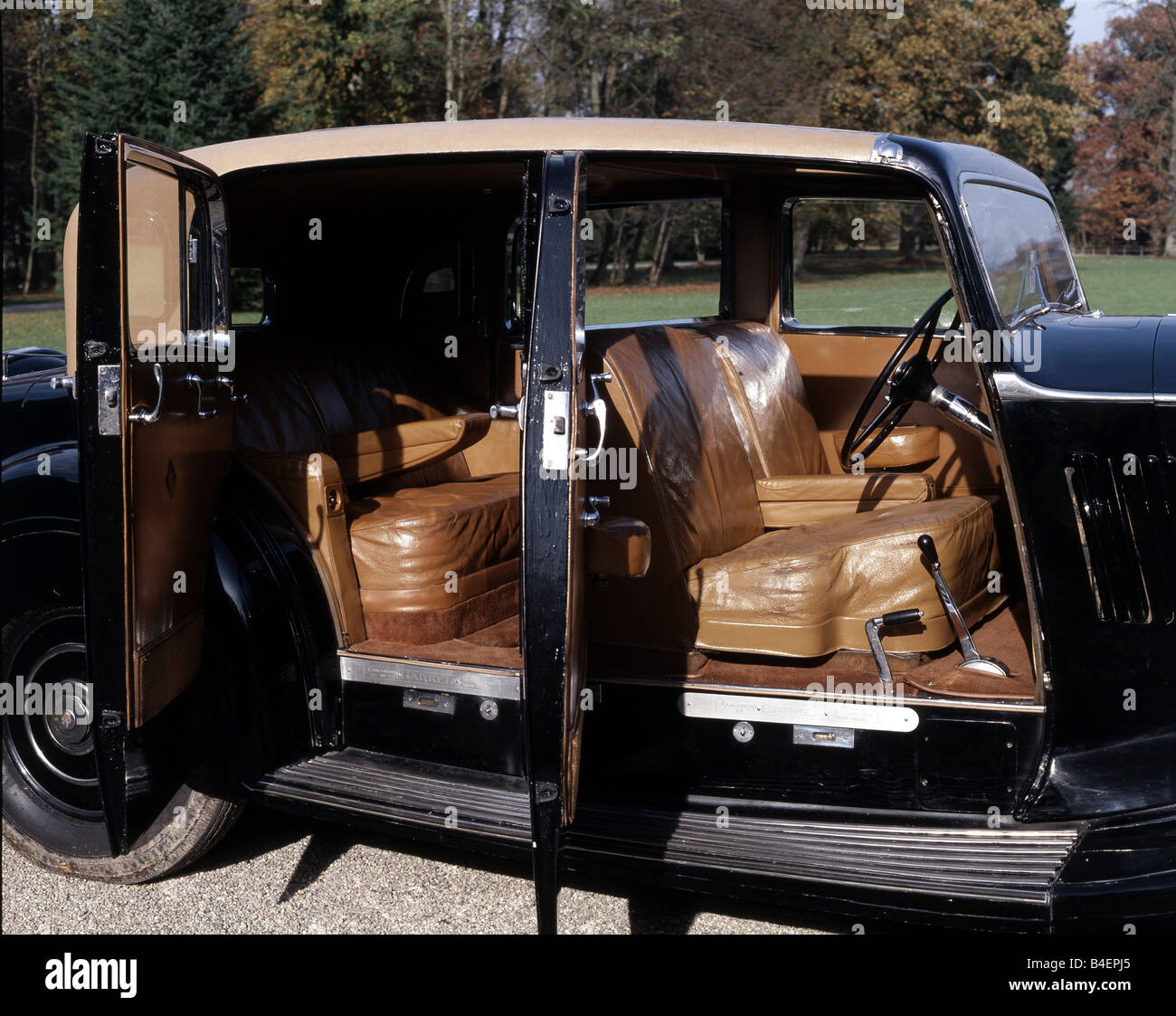 Car Rolls Royce Phantom Iii Model Year Black Sedan