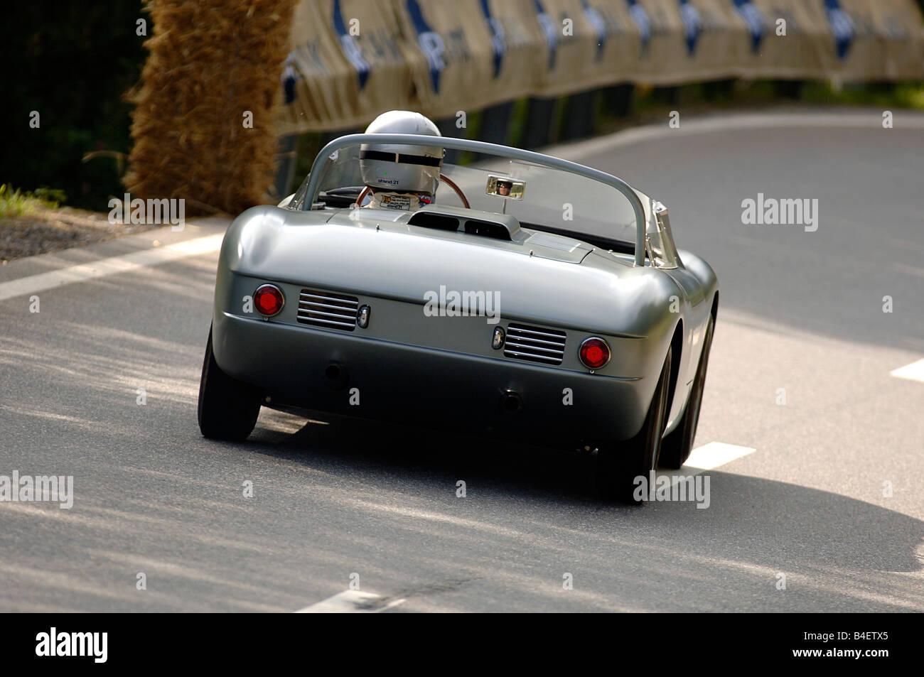 Car, BMW 700 RS, Sports Car, Racing Car, Vintage Car, Model Year Approx.  1960, 1960s, Sixties , Driving, Diagonal Back, Back Vie