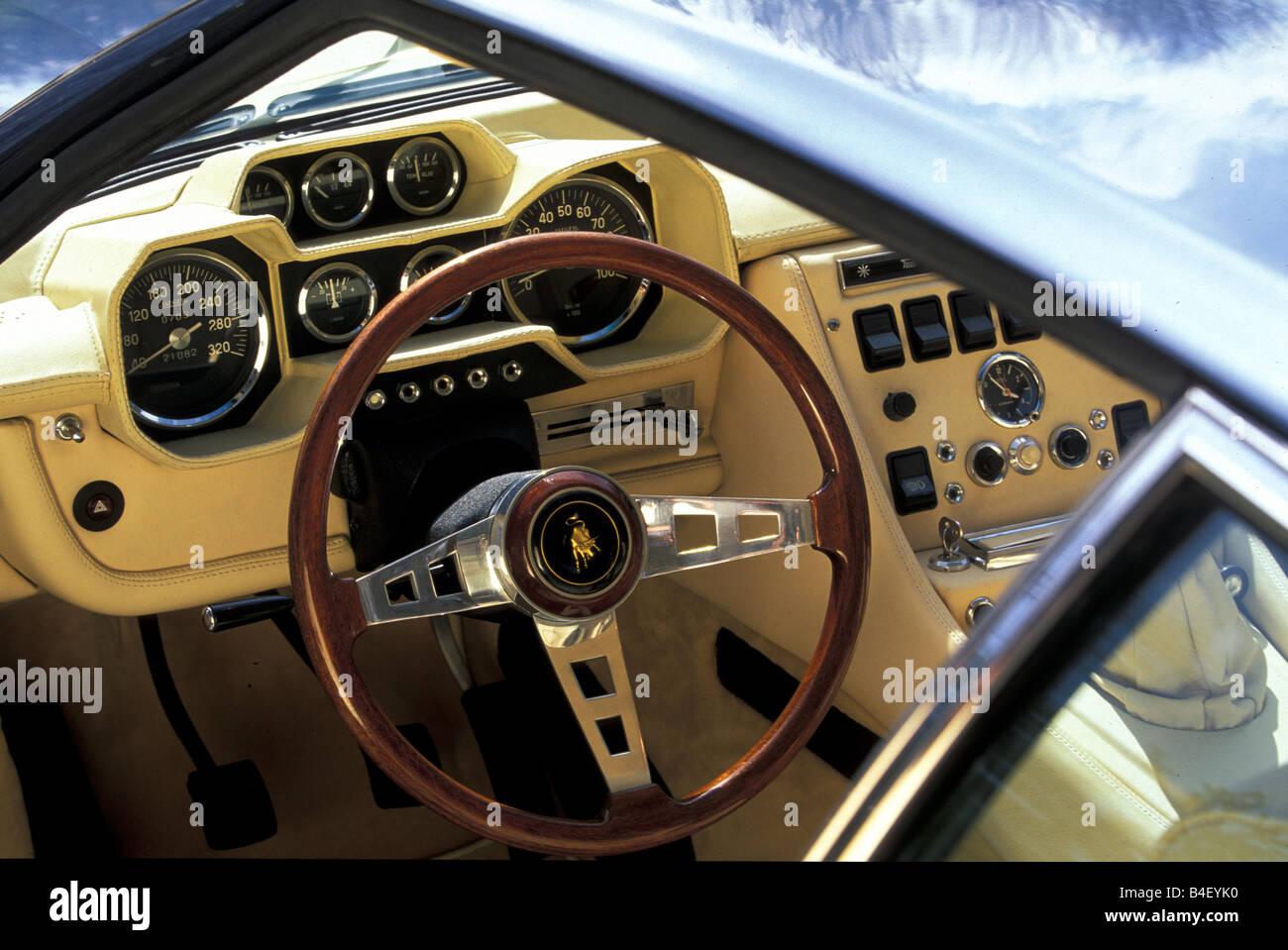 Car Lamborghini Espada 400 Gt Vintage Car 1960s