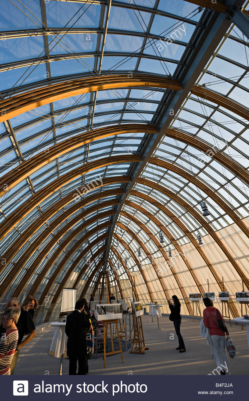 Modern Architecture Germany modern architecture barrel vault roof attic wood glass