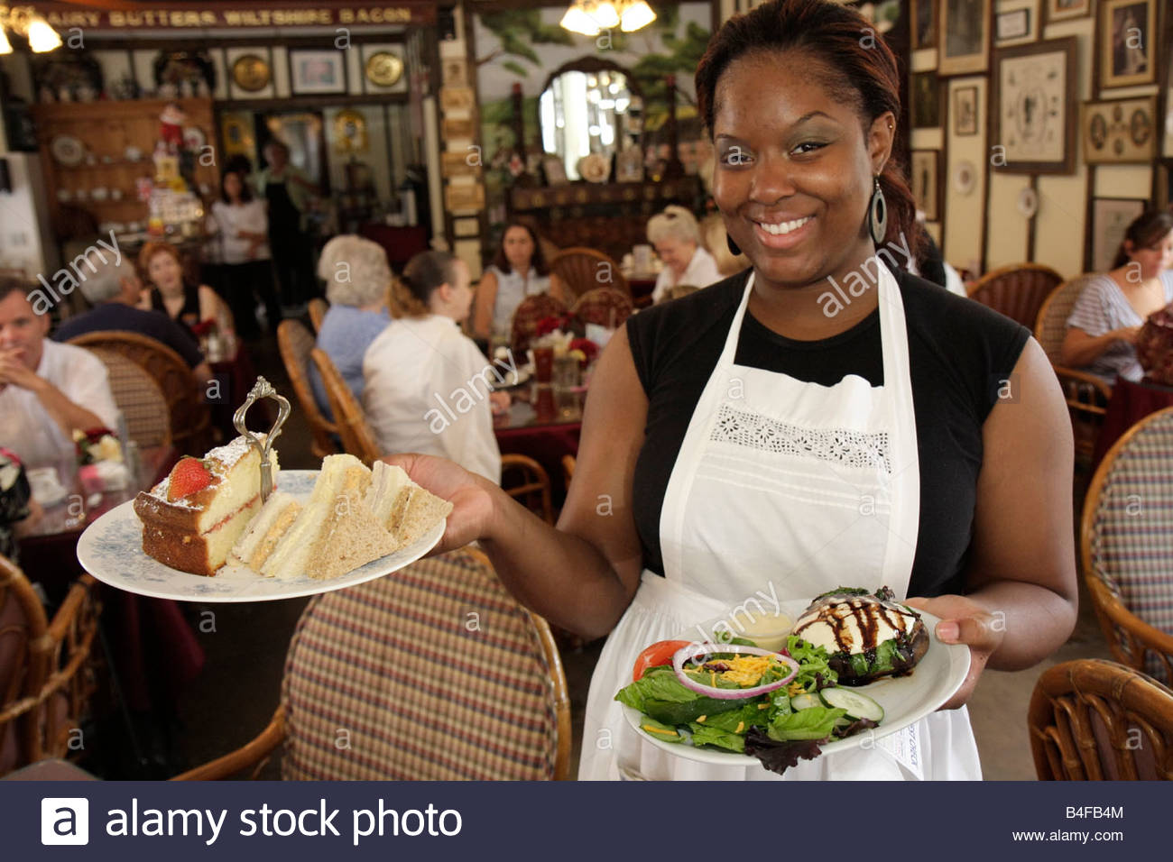 Black Waitress Gallery