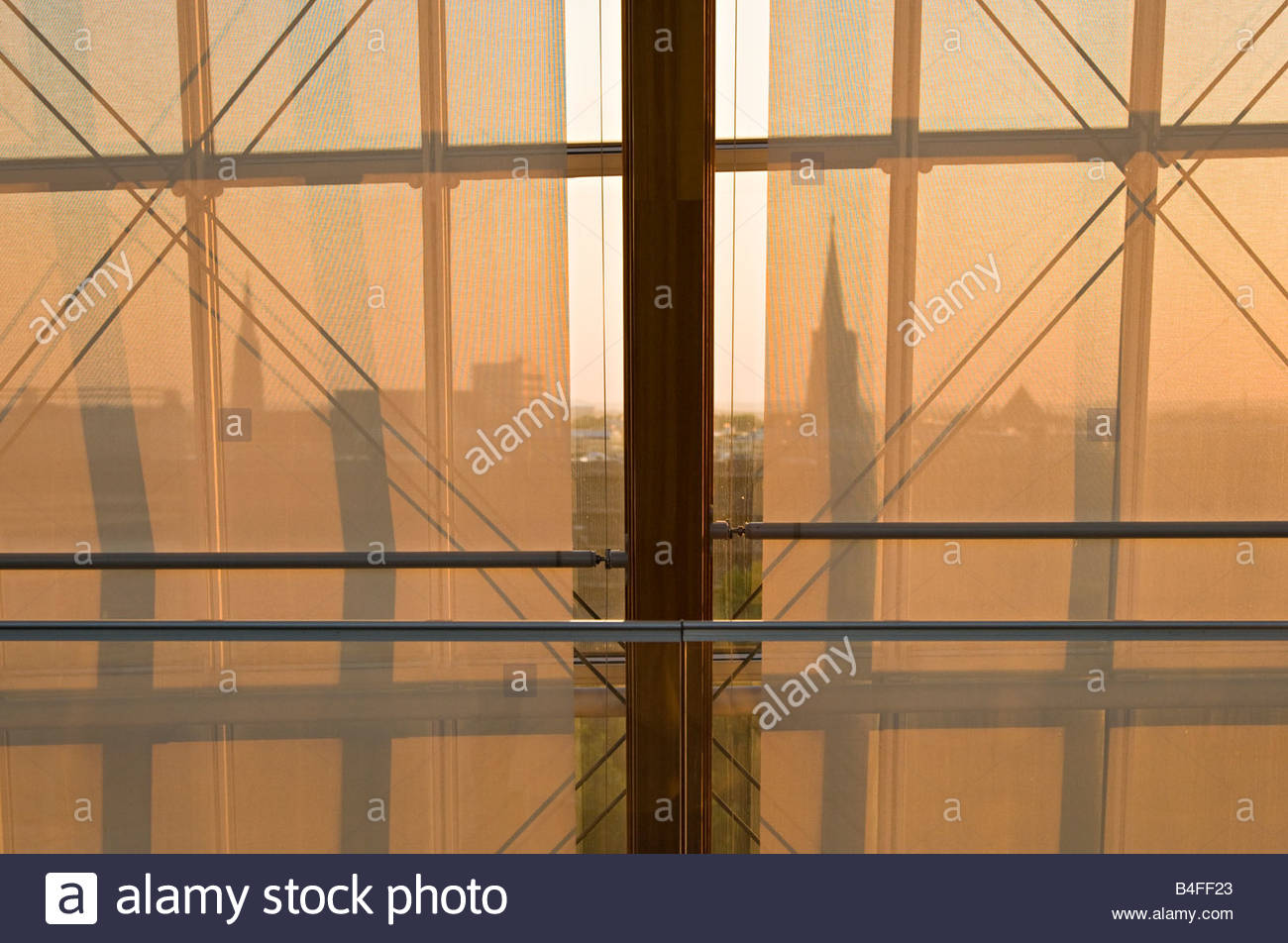 modern architecture attic wood glass construction window sunshade stock photo royalty free. Black Bedroom Furniture Sets. Home Design Ideas