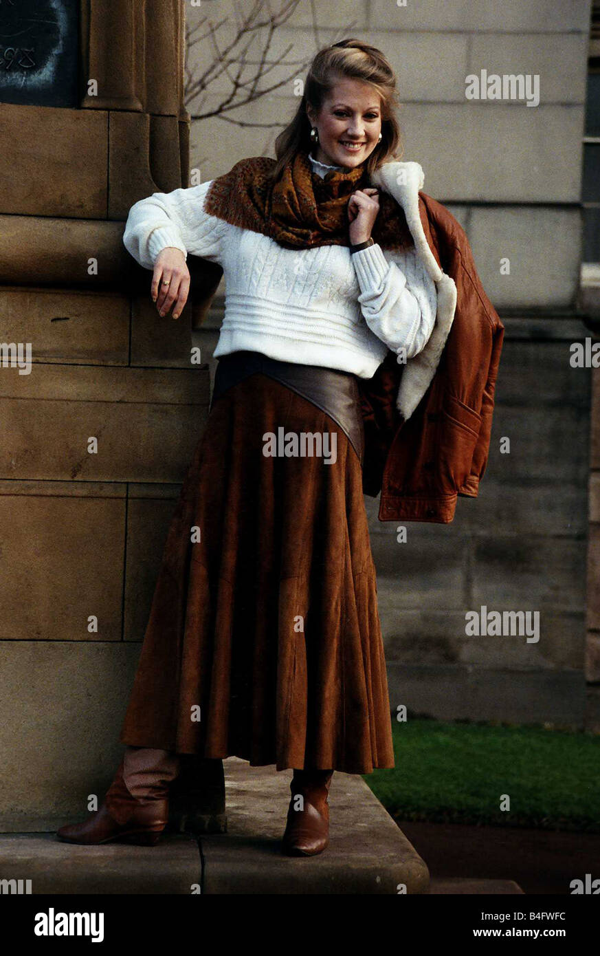 Suede Skirt Stock Photos & Suede Skirt Stock Images - Alamy
