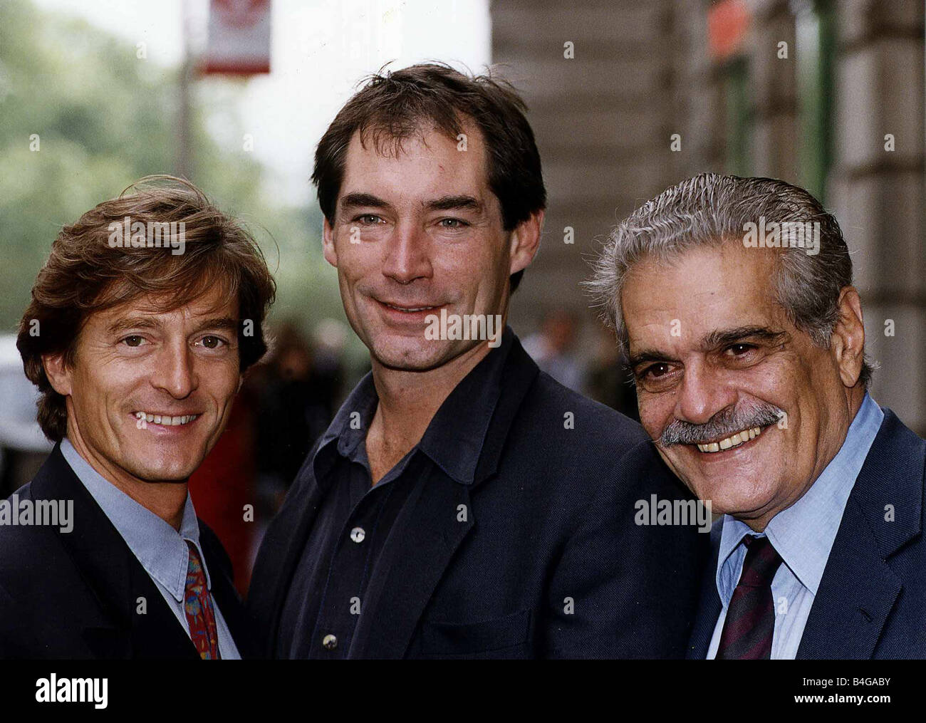 Nigel Havers Timothy Dalton And Omar Sharif In The New