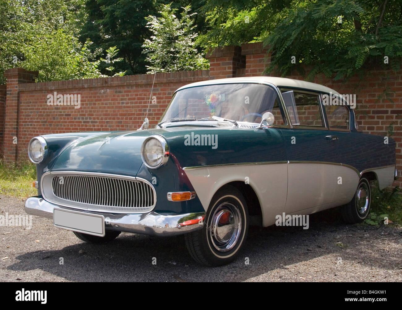 Rare Vintage Opel Olympia German Car Classic Car Show Stock Photo
