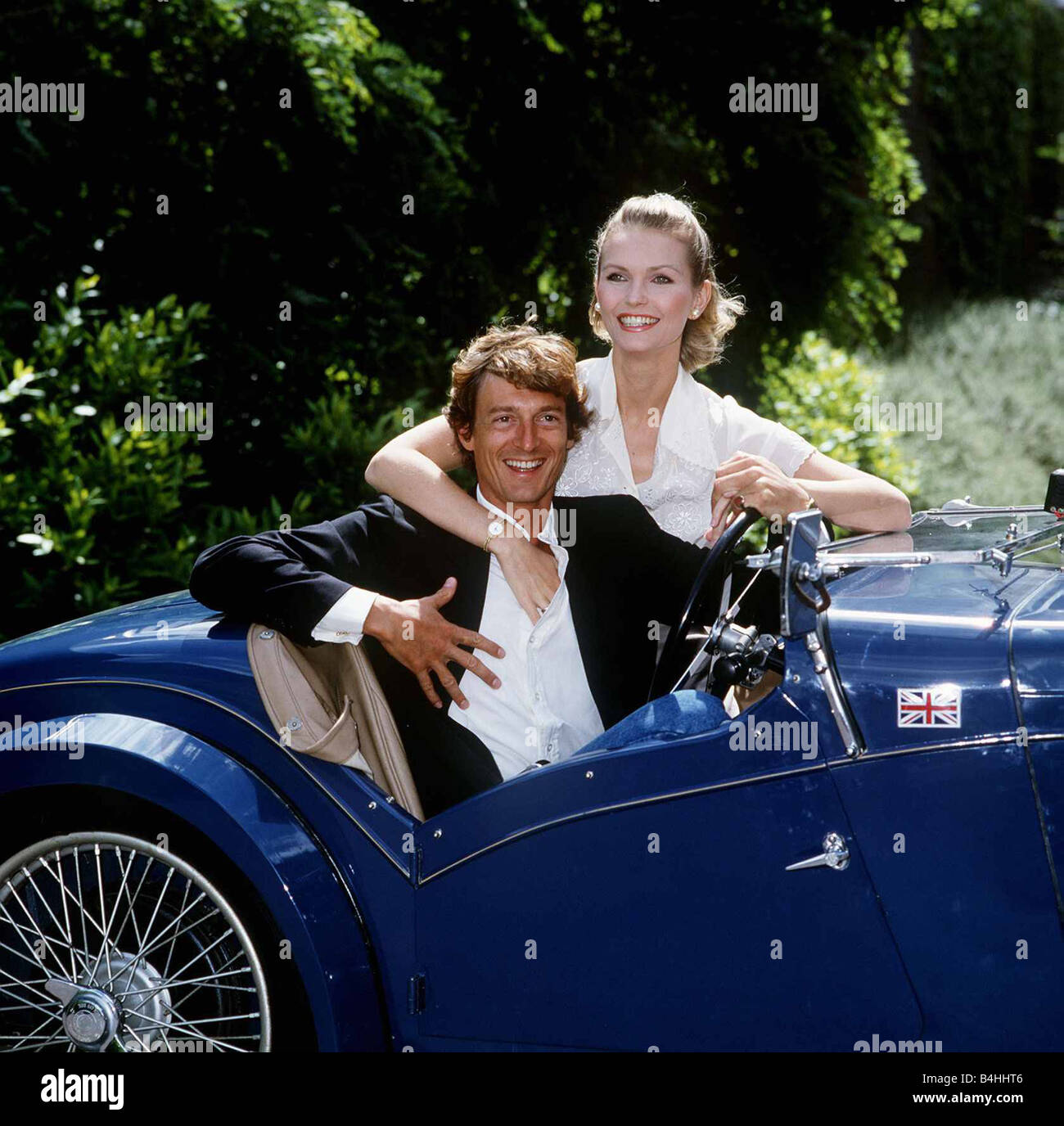 Fiona Fullerton Actress With Nigel Havers In The