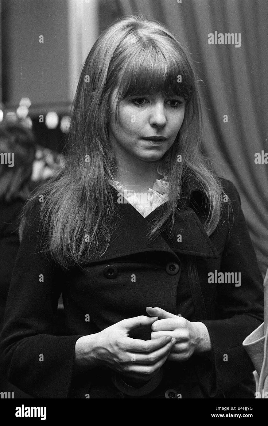 actress jane asher 1968 stock photo royalty free image