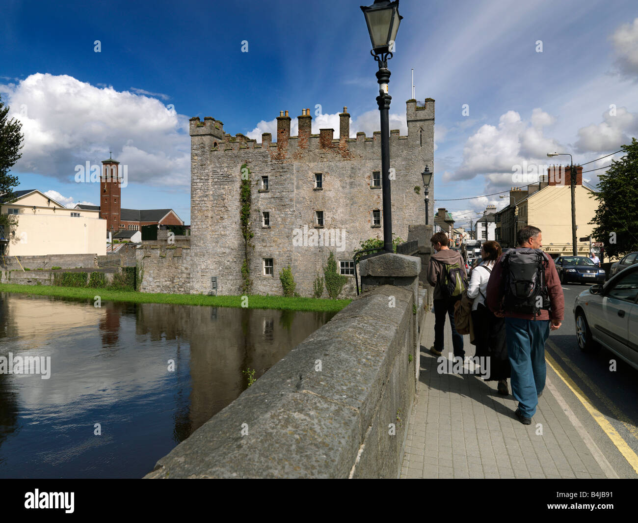 Whites castle athy co kildare ireland stock photo royalty for Kildare castle