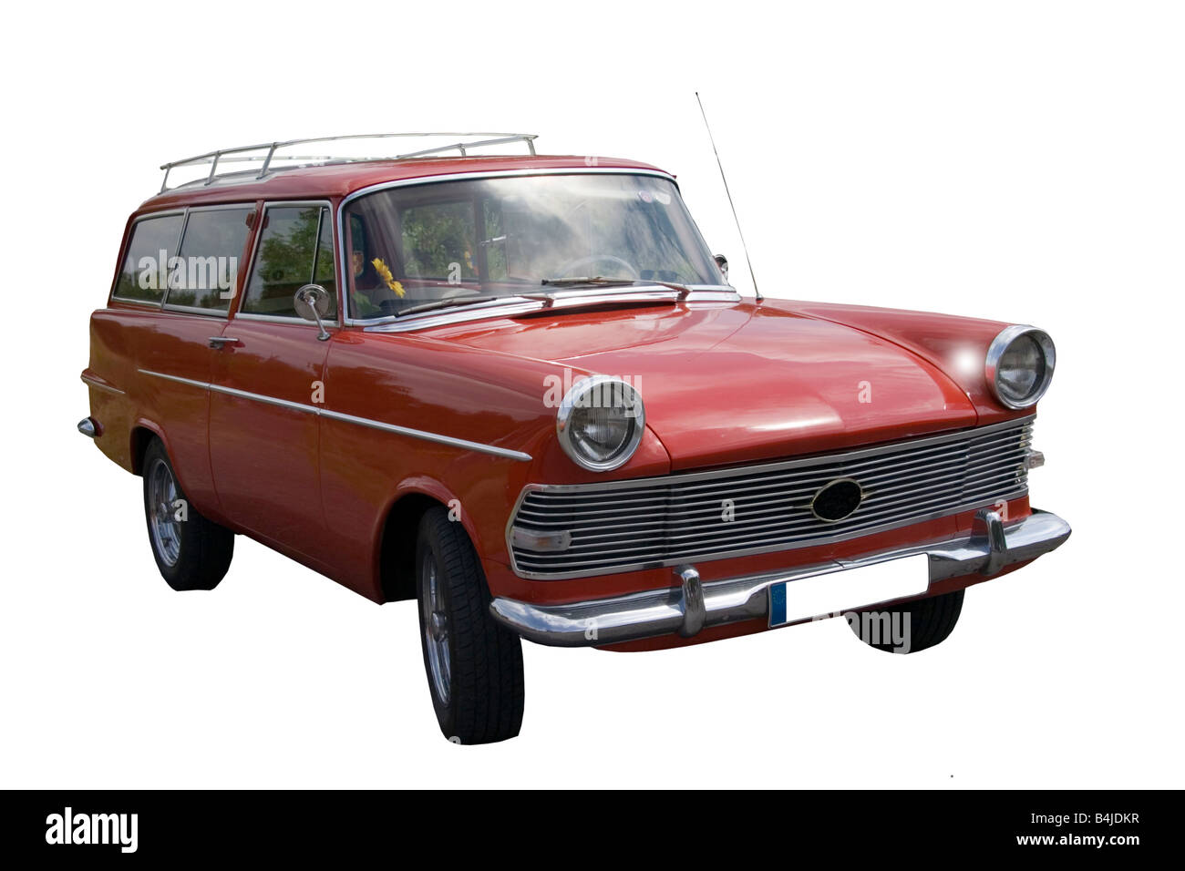Vintage Opel Rekord German Car Stock Photo Royalty Free