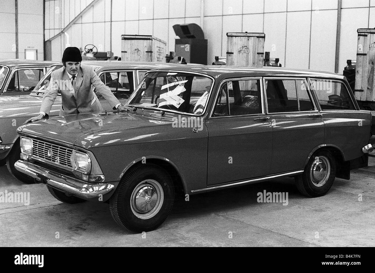 Motors Cars For Sale Property Jobs: Motor Cars The Russian Moskvich 427 Estate Which Is