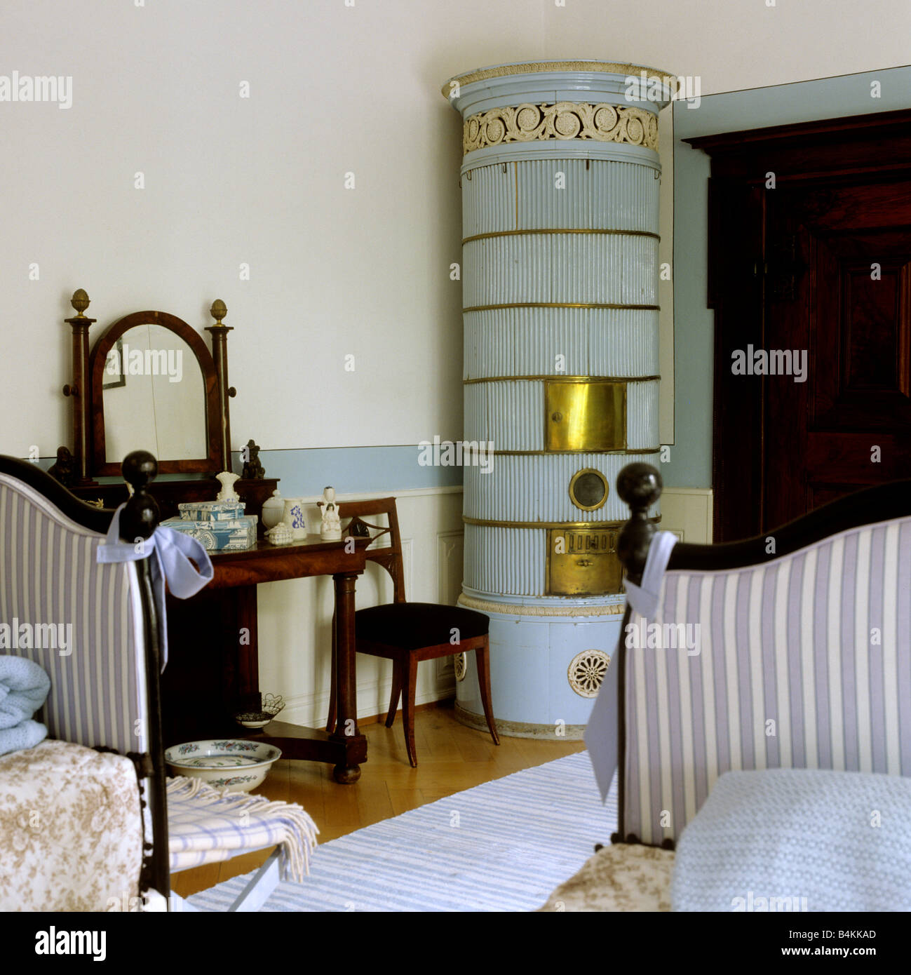 Period Bedroom Furniture 19th Century Bedroom With Period Furniture And Ceramic Stove In