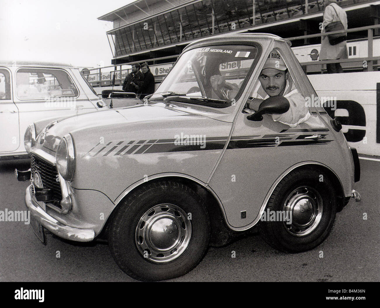 The Mini Car The smallest mini in the world built by owner ...
