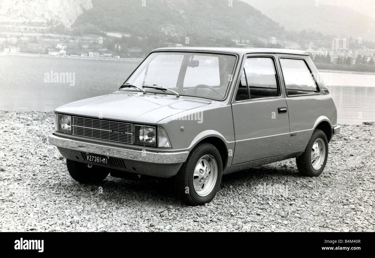 Motors Motor Cars Car Mini Innocenti Stock Photo Royalty Free
