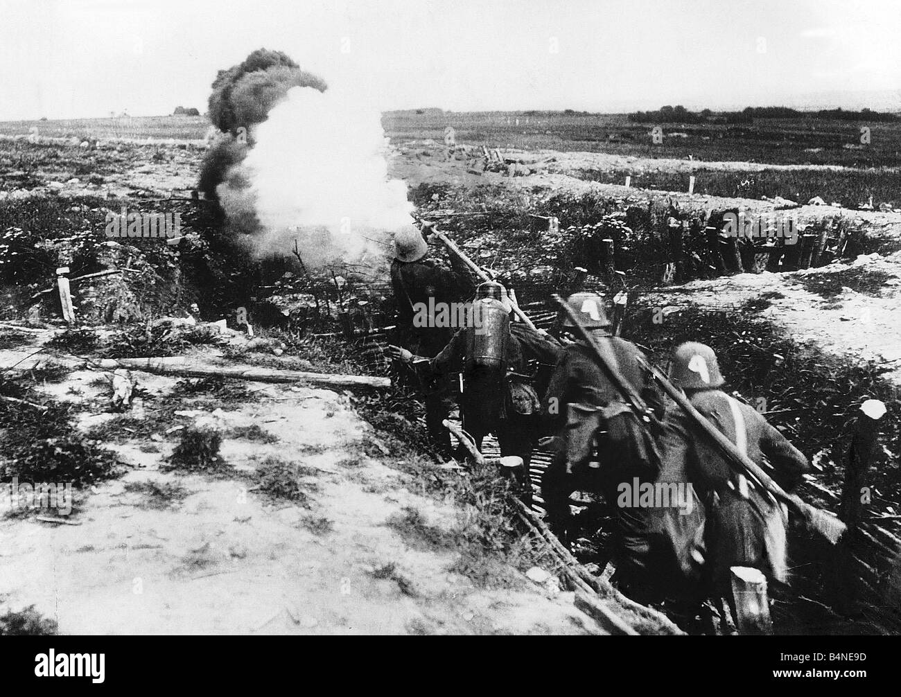 world war one warfare It was one of the few occasions in all of world war i when any  in 1918, to  develop the tactics and strategies of tank warfare that led to their.