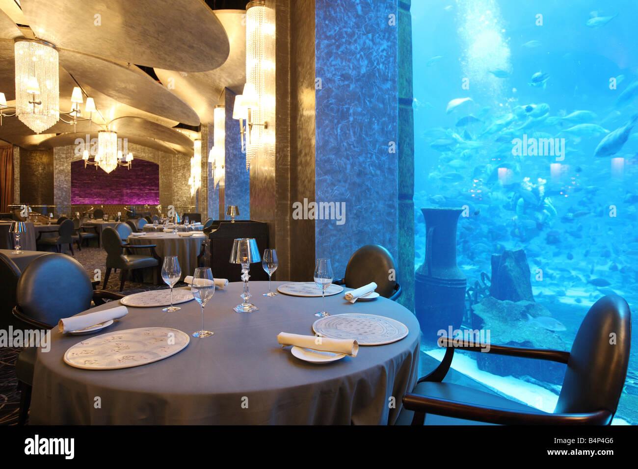 Restaurant Francais Atlantis The Palm