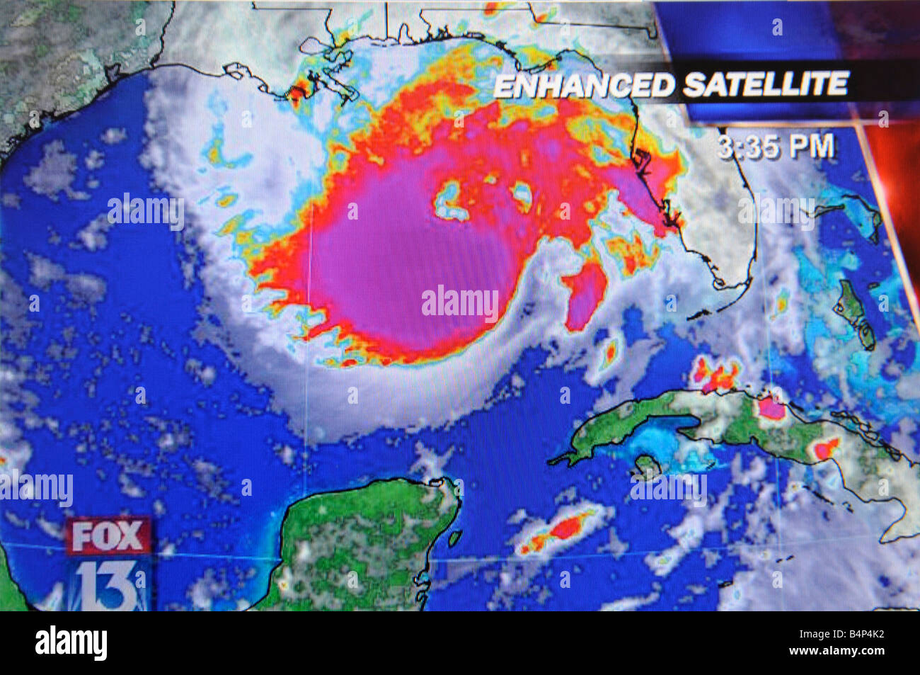 Hurricane Satellite Weather Map As Viewed On The Internet And On - World satellite weather map