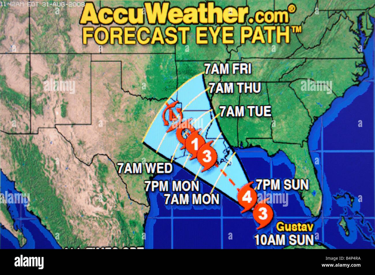 Hurricane Satellite Weather Map As Viewed On The Internet And On - Satellite weather map