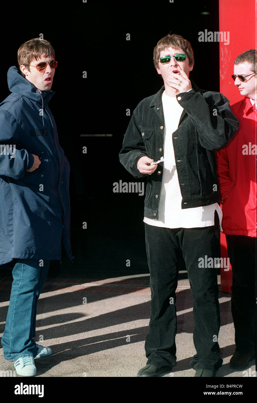 Liam Noel Gallagher Of The Pop Group Oasis Sept 1997 Stock