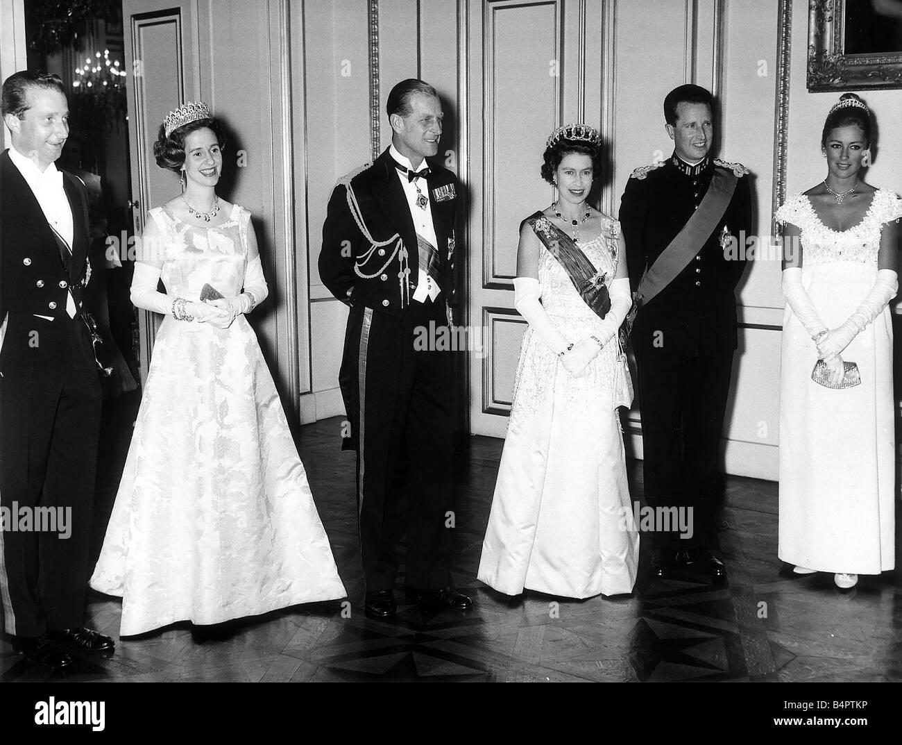 Vatican Floor Plan Queen Elizabeth Ii 1966 Visits Belgium Queen Elizabeth Ii