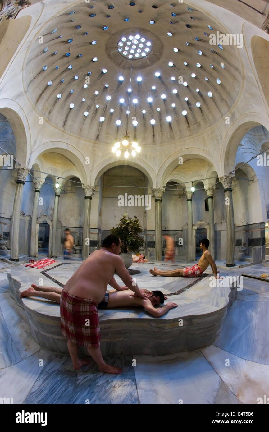 centre marble gobektasi cagaloglu hamam turkish bath istanbul turkey