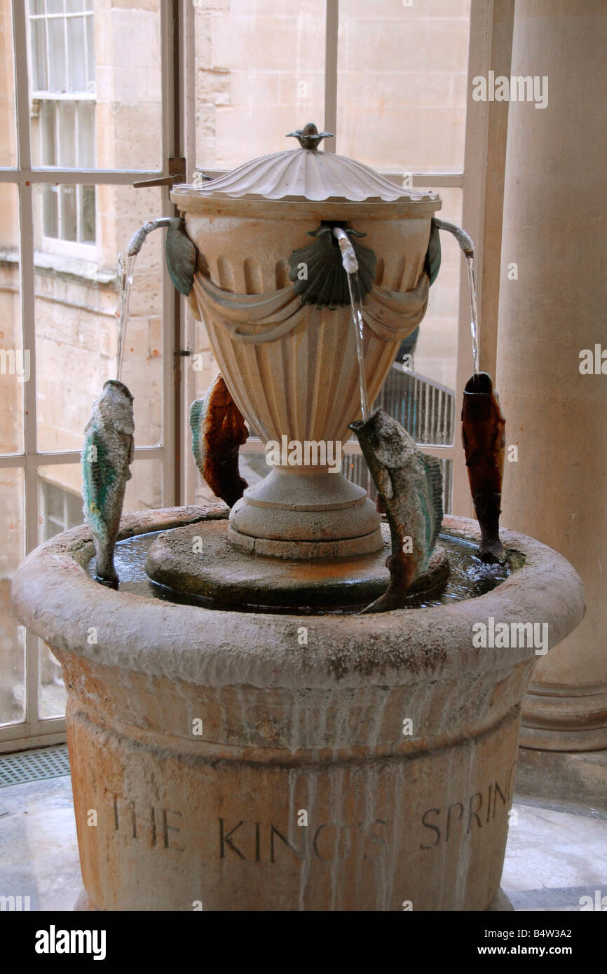 The King 39 S Spring Fountain Pump Room Roman Baths Bath