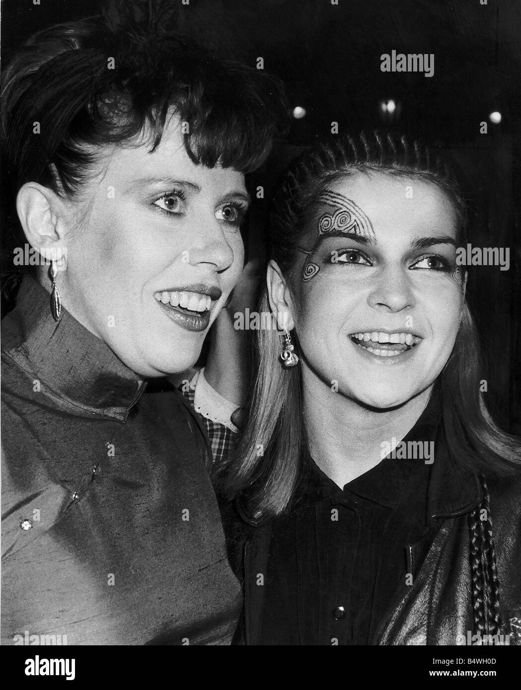 Hazel Wilcox >> Toyah Wilcox And Hazel O Connor At The Rock And Pop Awards Stock Photo, Royalty Free Image ...