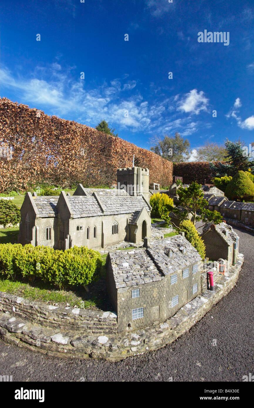Corfe Castle Model Village, Isle Of Purbeck, Dorset