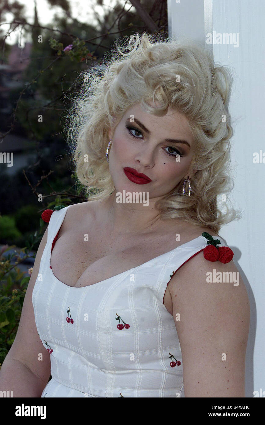 Anna Nicole Smith former Playboy Model and ex wife of Oil