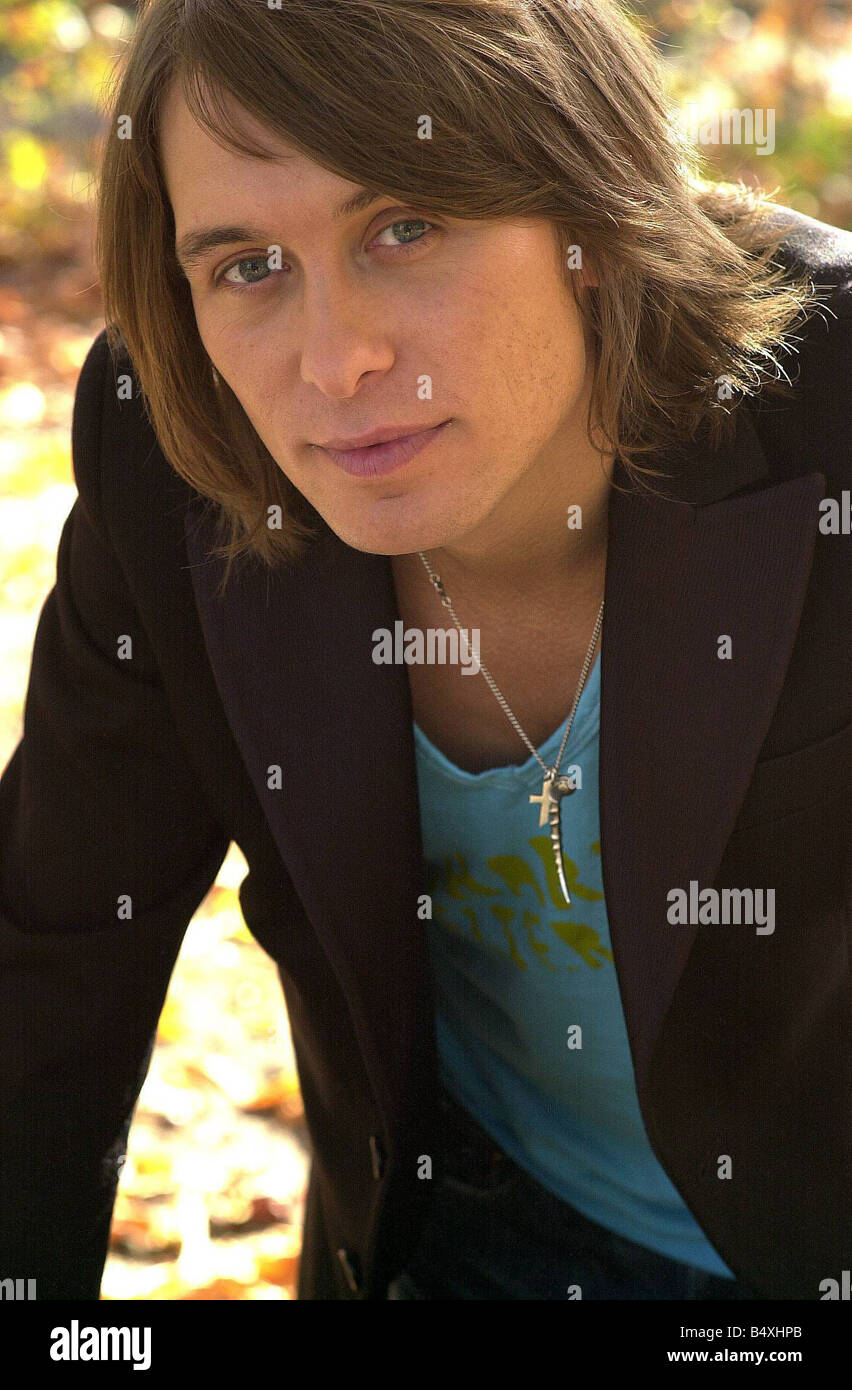 Mark Owen Former Member Of Boy Band Take That In London Where He Plans To  Launch