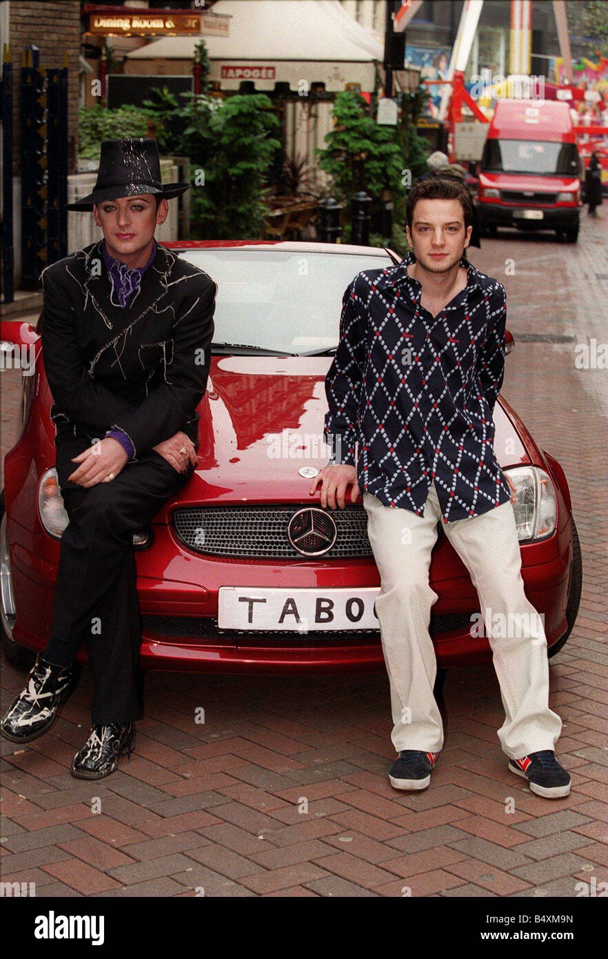 photo of Boy George Mercedes - car